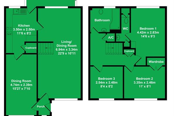 Floorplan 70 Oxlease
